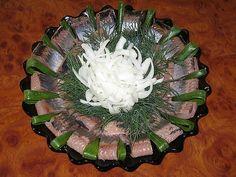 Рецепты салатов селедки с фотографиями