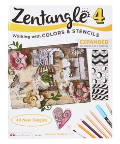 Look at this #zulilyfind! Zentangle 4: Colors and Stencils #zulilyfinds