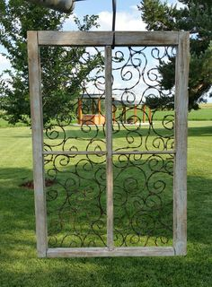 Windows & Doors: Barbed wire art, barbed wire decor, interior decorating ideas, … - All For Garden Rusty Garden, Metal Garden Art, Garden Wall Art, Metal Art, Barbed Wire Decor, Barb Wire Crafts, Low Maintenance Garden Design, Rustic Crafts, Outdoor Art