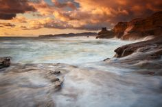 Sunset Storm by Darren White on 500px