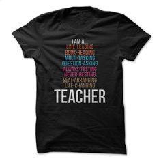 I Am A Teacher Great Shirt T Shirts, Hoodies, Sweatshirts - #polo shirt #zip up hoodies. MORE INFO => https://www.sunfrog.com/Funny/I-Am-A-Teacher-Great-Shirt.html?id=60505