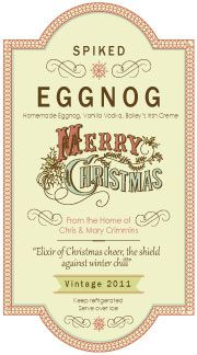 » Homemade Eggnog