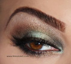VIDEO TUTORIAL: Minty Green & Brown Smokey eye