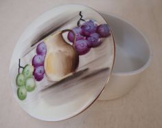Vintage Japanese Hand painted Fruit Box with by Bestintreasures