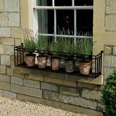 images window boxes | Window boxes and iron window box designs. | Garden Requisites