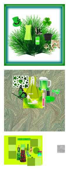 """""""St. Patrick's Day"""" by unitaiyo ❤ liked on Polyvore featuring Casetify, Nly Shoes, Calvin Klein, Stila, FACE Stockholm, Adolfo, WearAll, Rimmel and Xerjoff"""