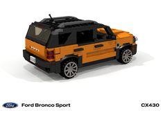 Ford Bronco, Amg Logo, Bronco Sports, Brick Loft, Cool Lego Creations, Cars, Autos, Ford Bronco Lifted, Car