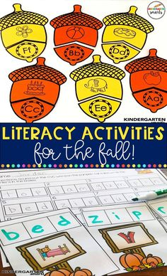 So many engaging activities for your little learners! 10 Student centers with recording sheets. Kindergarten Centers, Kindergarten Writing, Kindergarten Literacy, Literacy Centers, Alphabet Activities, Classroom Activities, Common Core Math, Holiday Activities, Early Learning