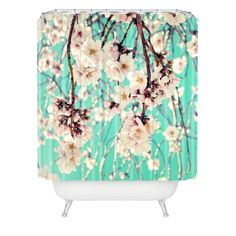 Lisa Argyropoulos Spring Showers Shower Curtain | DENY Designs Home Accessories #DENYWishList