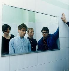 See Blur pictures, photo shoots, and listen online to the latest music. Blur Picture, Blur Photo, Damon Albarn, Blur Band, Charlie Brown Jr, Photo Recreation, Band Photography, Music Film, Music Music