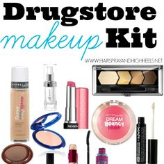 A full list of beauty products to start your own Drugstore Makeup Starter Kit. All for under $100.