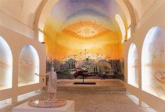 Chapelle Folon. Saint Paul de Vence