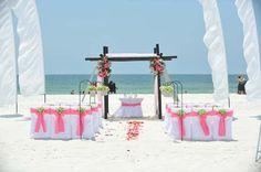 Big Day Weddings, Beach Wedding Decor - Big Day Decorations, Weddings, Wedding Feather Decorations, Beach Weddings, Alabama Beach Weddings, Gulf Shores Alabama, Orange Beach Alabama