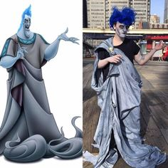 Hades from Hercules | 29 Magical Disney Halloween Costume Ideas You Can Totally Steal & Disneyu0027s Hades costume for Halloween! A super easy DIY using a black ...