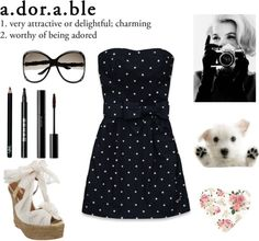 """""""a.dor.a.ble"""" by lillyrenee on Polyvore"""
