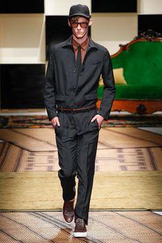 Salvatore Ferragamo Spring 2016 Great Jumpsuit Menswear - Collection - Gallery - Style.com