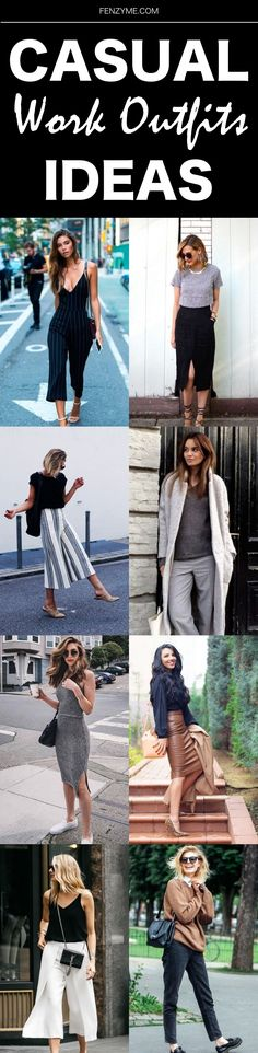 140 Casual Work Outfits Ideas 2018 - Outfits for Work Casual Work Outfits, Business Casual Outfits, Mom Outfits, Comfortable Outfits, Work Casual, Classy Outfits, Stylish Outfits, Spring Outfits, Cute Outfits