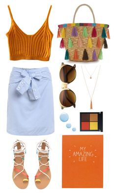 """""""Budget Chic"""" by bechs ❤ liked on Polyvore featuring H&M, Wild & Wolf and Topshop"""