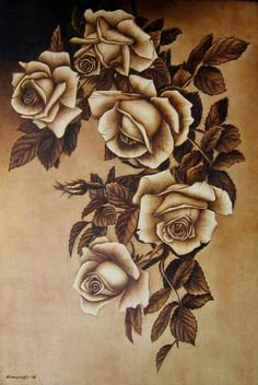 Wood Burning Crafts, Wood Burning Patterns, Wood Burning Art, Wood Crafts, Hobbies And Crafts, Arts And Crafts, Coffee Painting, Pyrography, Wood Carving