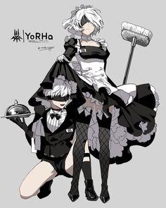 NieR: Automata ♥ 9s and 2b ♡ #PlayStation #Game #Yorha