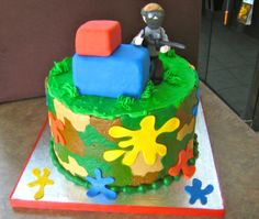 Paintball Groom's Cake