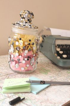 Be happy- how to make a beautiful happy jar.