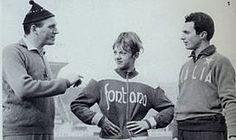 1952 Giuseppe Dornoni  (à gauche) (Italie)  JO de Helsinki Finlande