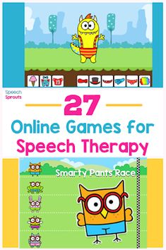 27 Free Online Games You Need to Know About for Speech Therapy Preschool Speech Therapy, Speech Activities, Speech Language Therapy, Speech Therapy Activities, Language Activities, Speech And Language, Speech Pathology, Speech Therapy Autism, Online Games For Kids