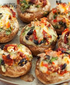 If you're looking for one great appetizer to beat this entertaining season, this is it! Serve Cheesy Loaded Mushrooms and you'll be ready to start your delicious feast in the very best way. Tap or…More Mouth Watering Keto Diet Friendly Appetizers Recipes Low Carb Recipes, Vegetarian Recipes, Cooking Recipes, What's Cooking, Quirky Cooking, Cooking Utensils, Cooking Light, Easy Recipes, Fingerfood Party