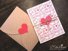 {DIY St. Valentin: I love you/ je t'aime} free printables