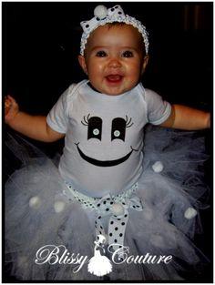 Ghost Tutu Set Halloween Costume by www.BlissyCouture.net