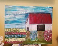 Flower Yard Painting