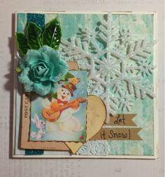 Scrap Savings: Let it Snow Card for Gecko Galz Cross Promotion