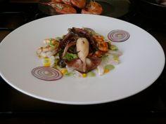 JHS  * /  La mer dans le plat, les crevettes calmars Gino D'Aquino