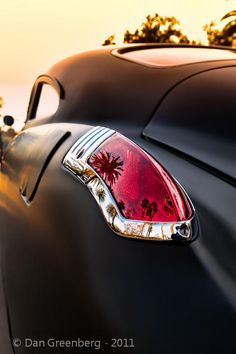 1949 Buick - Love the Palm Trees reflected in the Tail Lights. http://blog.d-infinite.com/post/9094935271