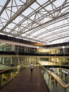 Retail interior and sky walk. Sky Walk, Architectural Services, Retail Interior, Louvre, Stairs, Architecture, Building, Home Decor, Arquitetura