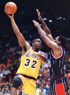 magic johnson #lakers #Los Angeles Lakers #nba