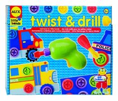 Amazon.com: ALEX® Toys - Early Learning Twist & Drill -Little Hands 1485: Toys & Games