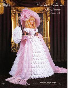 "Free Fashion Doll Crochet Patterns, download | Patterns for 11 "" fashion dolls to crochet – Crochet Fashion Doll"