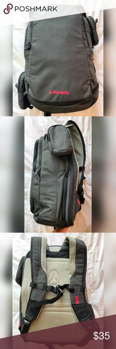 2b2ffd3f38dd Nixon Watch Travel Laptop Backpack Duffel Good used condition. One small 1  2