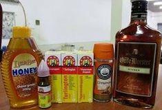 <p>Bon+Appetit+Met+Rita++2x+BotteltjiesTurlington+2x+Botteltjies+Borsdruppels+1x+Botteltjie+Pepperment+druppels…+500g+heuning+500Ml+Gemmer+brandewyn+2+eetlepels+kaneel+Meng+alles+goed+saam,+en+eet+n+eetlepel+vol+4+keer+per+dag..+Stefaans+Blaauw</p>