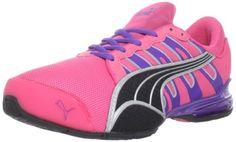 850c1573562 Pink Pumas, Pink Running Shoes, Heeled Loafers, Heeled Sandals, Cheap Womens  Shoes, Sports Footwear, Wedge Sneakers, Adidas Sneakers, Workout Shoes