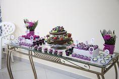 Decoração de festa: o chá de lingerie da Alê