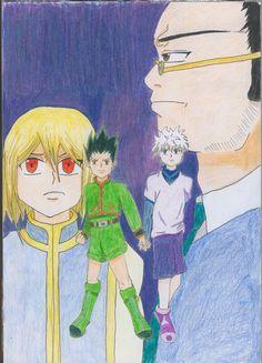 Hunter x Hunter fan art by akiharuno