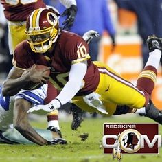 RG III goes for first down