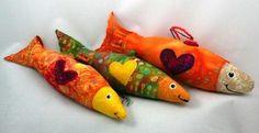Lucky Fish  by Mary Jo Oxrieder  Raven Rocks Studio