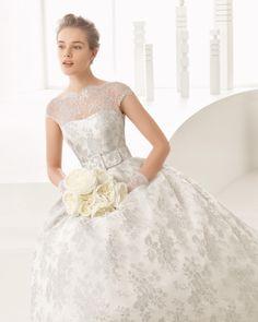 Nassau vestido de novia Rosa Clará 2017