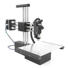 Printable Proton - Open Source Printer by Atom Printers Make 3d Printer, Laser Printer, 3d Printer Designs, 3d Printer Projects, 3d Printing Machine, Diy 3d, 3d Printing Service, Open Source, 3 D