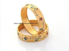 Latest Gold Bangles with Simple Design | Latest Indian Jewellery Designs