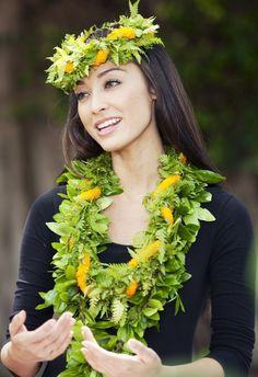 .Beautiful lei Iwalani I regonize her from MM miss aloha hula performance 2nd place and 4th place I think